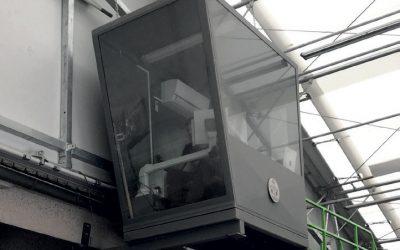 Kabine für Bediener