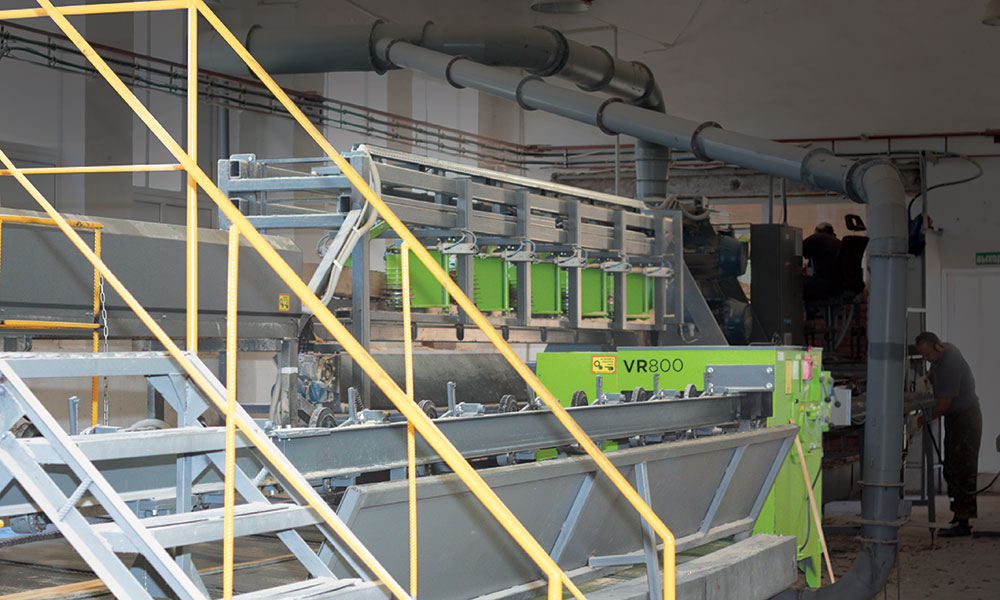 Sawing line in Belarus - SDH sawing line