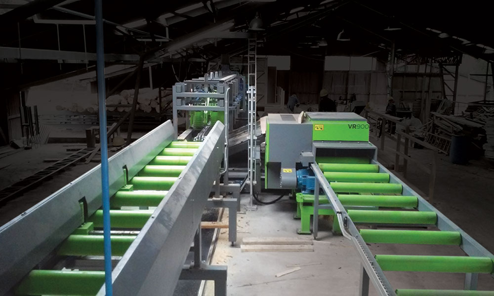 Sawing line in Chile - SDH Sawing line