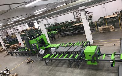 Mebor project report: New horizontal band saw resawing line for oak lamellas in Serbia